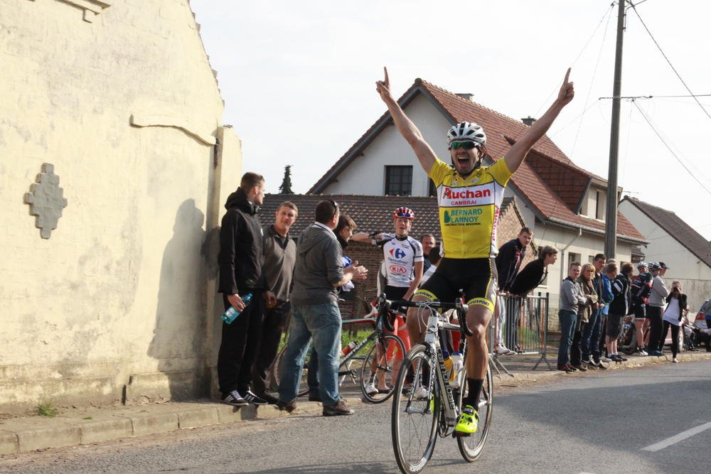 Augustin Regost a remporté sa première victoire de la saison
